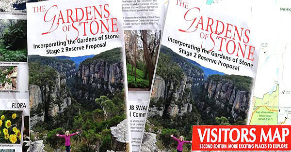 Gardens of Stone Visitors Map